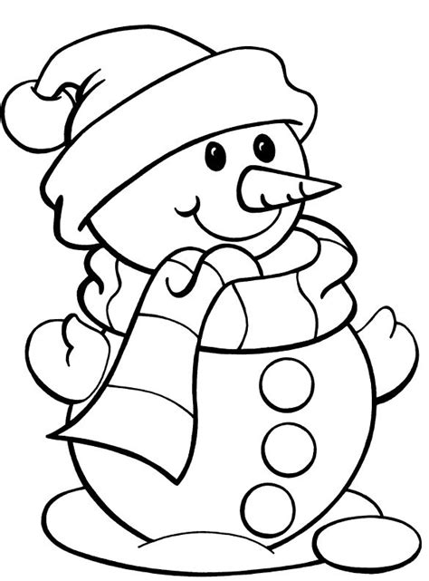 cute winter coloring pages printable a cute mr snowman coloring pages is part of