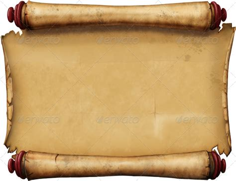 Old Blank Scroll Journal Patterns And Cards Scroll Template