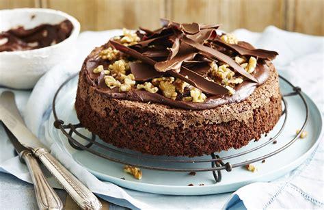 gluten free chocolate and walnut cake better homes and gardens