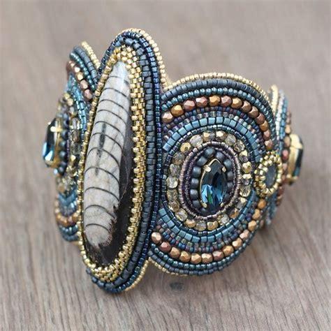 bead embroidery bracelets bracelet cuff bead embroidery beadwork beaded