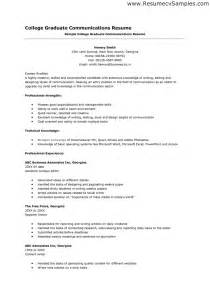 Resume Template For College Application by High School Senior Resume For College Application