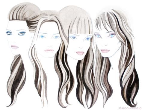 fashion illustration hair fashion illustration hair pictures to pin on