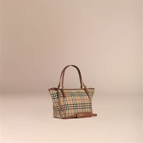 check in bag united horseferry check baby changing tote bag in burberry