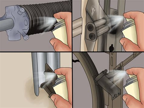 How To Adjust Garage Door Springs by How To Adjust A Garage Door With Pictures Wikihow