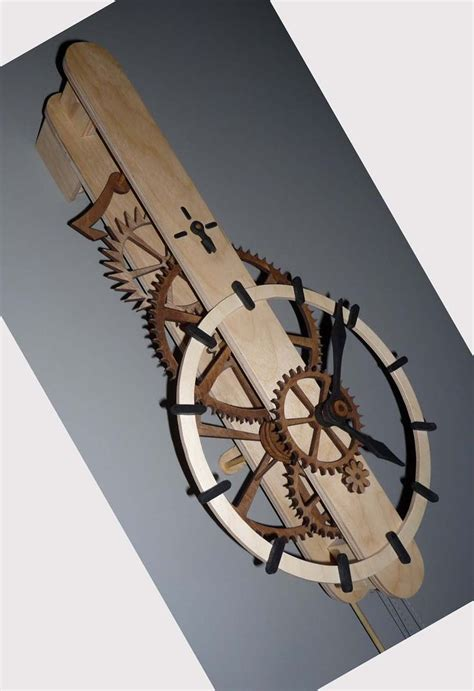 images  wooden clock  pinterest dark wood