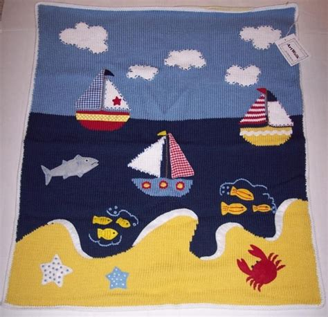 nautical blanket knitting pattern 17 best images about baby blankets navy on
