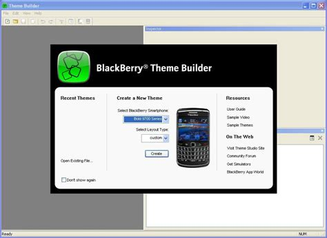 theme editor blackberry blackberry theme studio blackberry download
