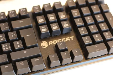 Roccat Suora Mechanical Gaming Keyboard Frameless roccat suora frameless mechanical gaming keyboard geeks3d howldb