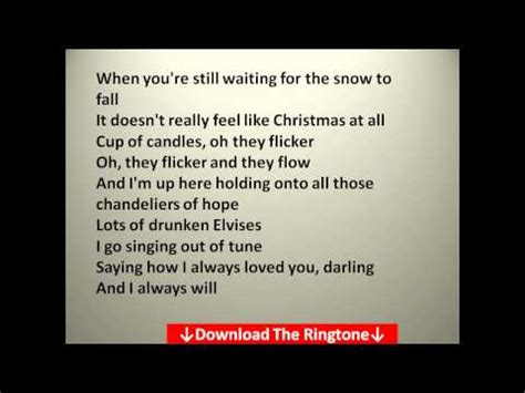 coldplay christmas lights lyrics youtube