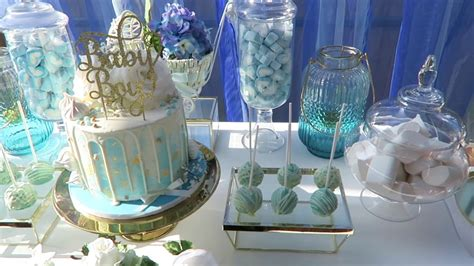 Blue And Gold Baby Shower by Blue And Gold Baby Shower