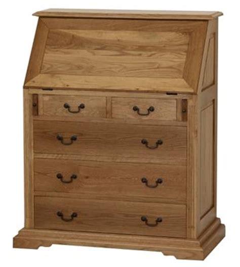 oak writing bureau furniture solid oak writing bureau ek15 right price furniture
