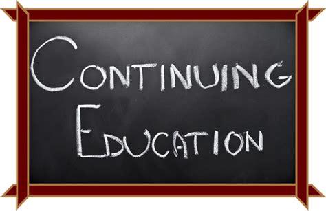 Continuing Education continuing education cdh
