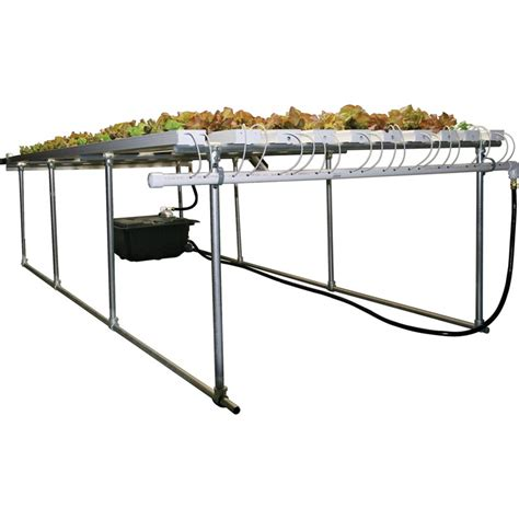 Hydrohobby For All Your Hydroponics Gear by Hydrocycle 6 Quot Pro Nft Lettuce System 180 Growers
