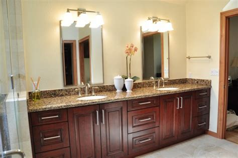 cherry bathroom vanities cherry bathroom cabinets home furniture design