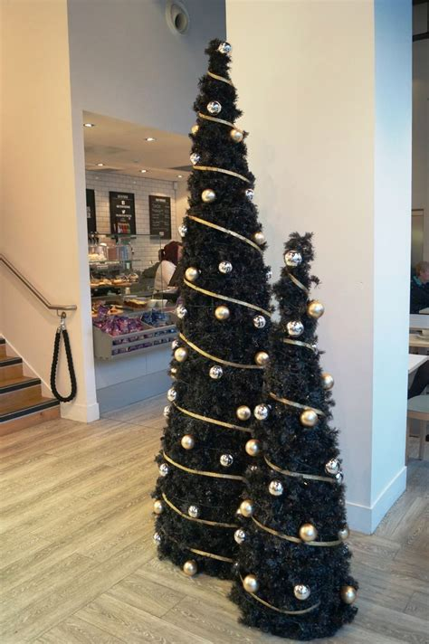 black christmas tree decorations ideas decoration love