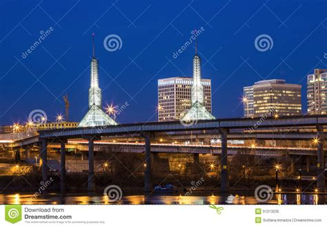portland lights stock photo image 51213235