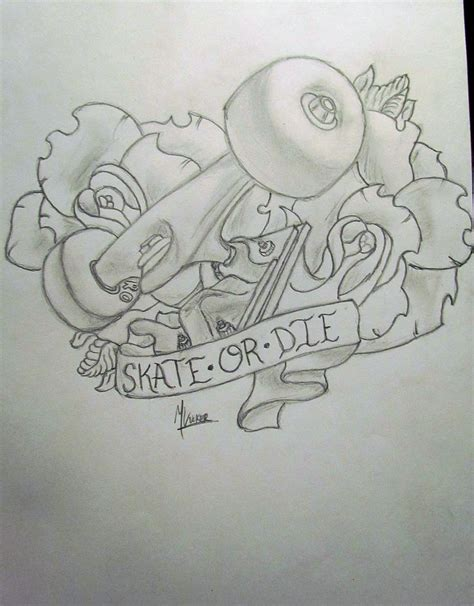 skateboarding tattoo designs 105 best images about skateboarding on