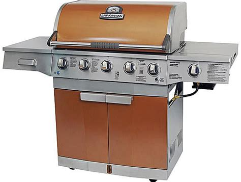 brinkmann medallion 5 burner gas grill review