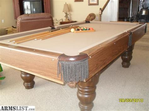 armslist for sale steepleton pool table