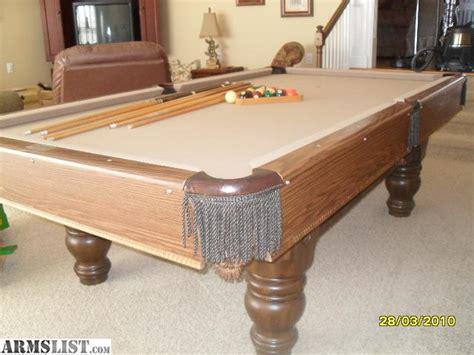 Armslist For Sale Steepleton Pool Table