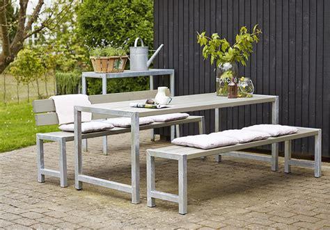 sitzgarnitur garten garten im quadrat moderne outdoor sitzgarnitur planken