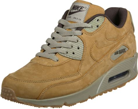 Beige Air Max by Nike Air Max 90 Winter Prm Shoes Brown Beige