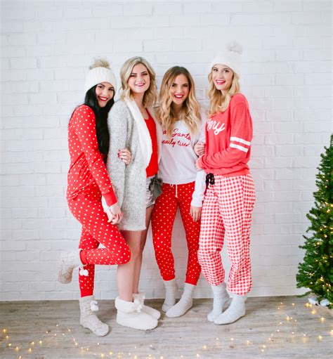 ideas for funny christmas pajama party pajama ideas for my favorite things giveaway pink peonies by rach parcell