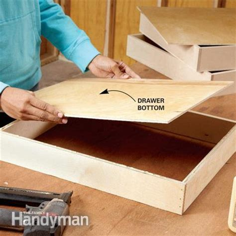 build false bottom drawer how to build under cabinet drawers increase kitchen