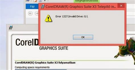 error 1327 invalid drive while installing or updating and it works you receive an quot error 1327 invalid drive