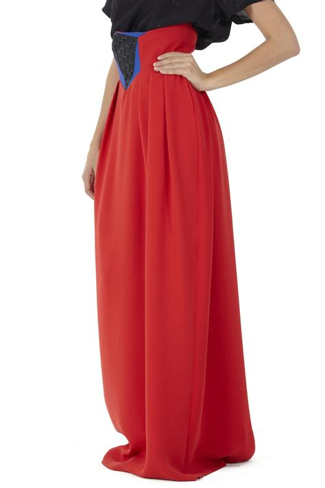 sakina high waist maxi skirt from montmartre shoptiques