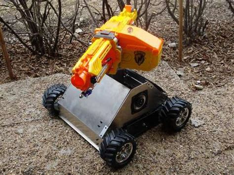 nerf remote tank rc nerf tank geeky gadgets