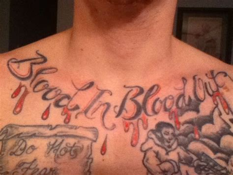 bloods gang tattoos 30 best tattoos creativefan