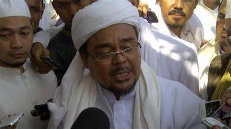 biografi habib muhammad rizieq shihab wow habib rizieq akan kerahkan seluruh anggota fpi untuk