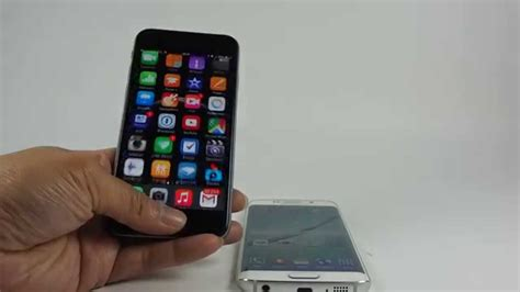 Hp Iphone S6 iphone 6 vs s6 edge 指紋辨識 指紋解鎖速度