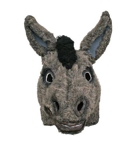 printable animal masks donkey donkey mask
