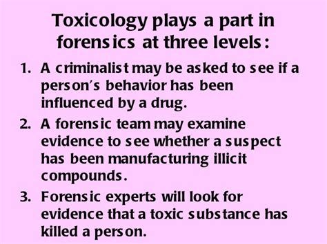 forensic toxicology ppt