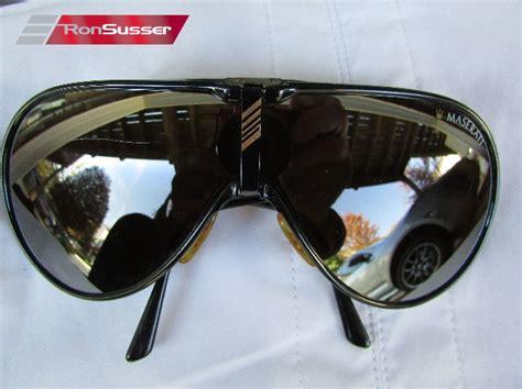 Maserati Sunglasses by Vintage Maserati Sunglasses With Interchangeable