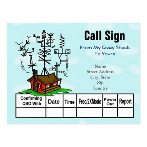 qsl cards template qsl postcards qsl postcard templates zazzle uk