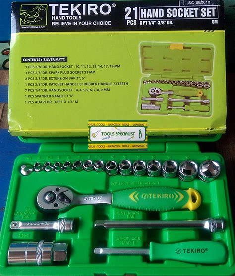 jual kunci sok 21 pcs tekiro tools specialist