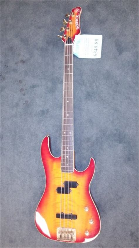 Bass Samick Greg Bennet Fn2 Original 100 samick valley arts custom pro shop bass guitar cherry burst reverb