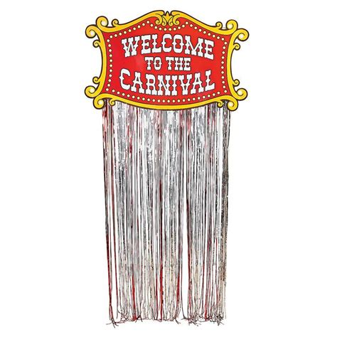 circus themed curtains carnival door curtain come one come all this door