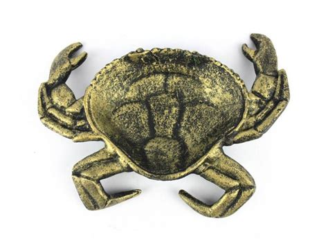 Decorative Crab by Buy Antique Gold Cast Iron Crab Decorative Bowl 7 Inch