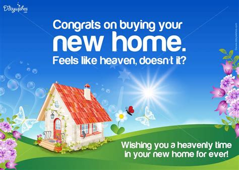 new home congratulations cards wishes house plans 4839