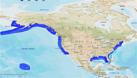 map of united states and oceans marine and hydrokinetic resource assessment and