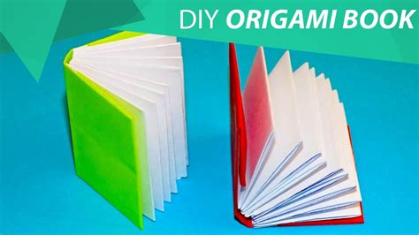How To Make A Book Origami - how to make an origami mini modular book homecraft