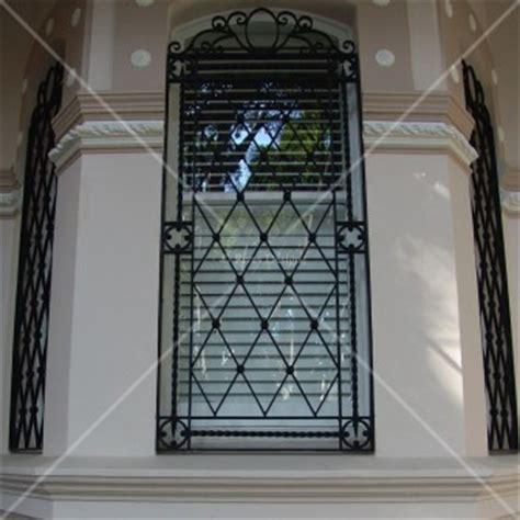 wrought iron window grills rivas design