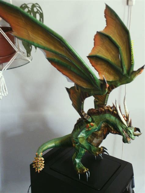 Awesome Papercraft - yeah dragons empatiakapitany awesome papercraft
