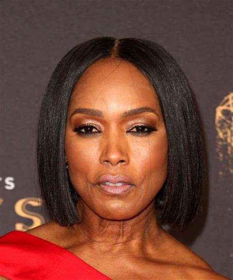 Angela Bassett Hairstyles by Angela Bassett Formal Bob Hairstyle Black