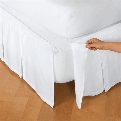 velcro bed skirt bedskirt 10 handy velcro hacks