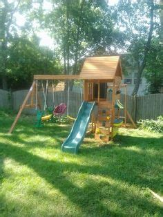 backyard discovery prairie ridge playset installed in